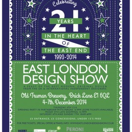 It's coming – East London Design Show 2014