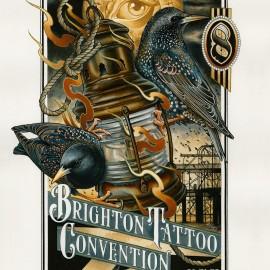 Brighton Tattoo Convention 2015 – work in progress